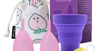 Sanitech Cup Set Rosa Menstruationstasse aus Medizinischem Silikon 310x165 - Sanitech Cup Set - Rosa - Menstruationstasse aus Medizinischem Silikon, Finde deine Perfekte Passform Beste Alternative zu Tampons und Stoffbinden